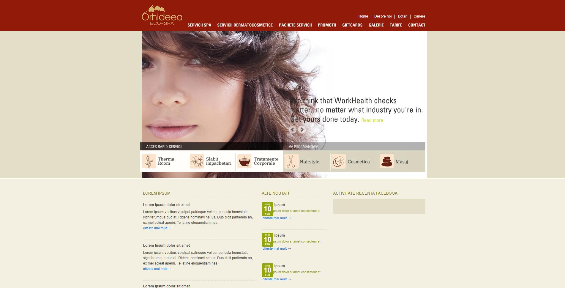 Optimizare site cosmetica Romania