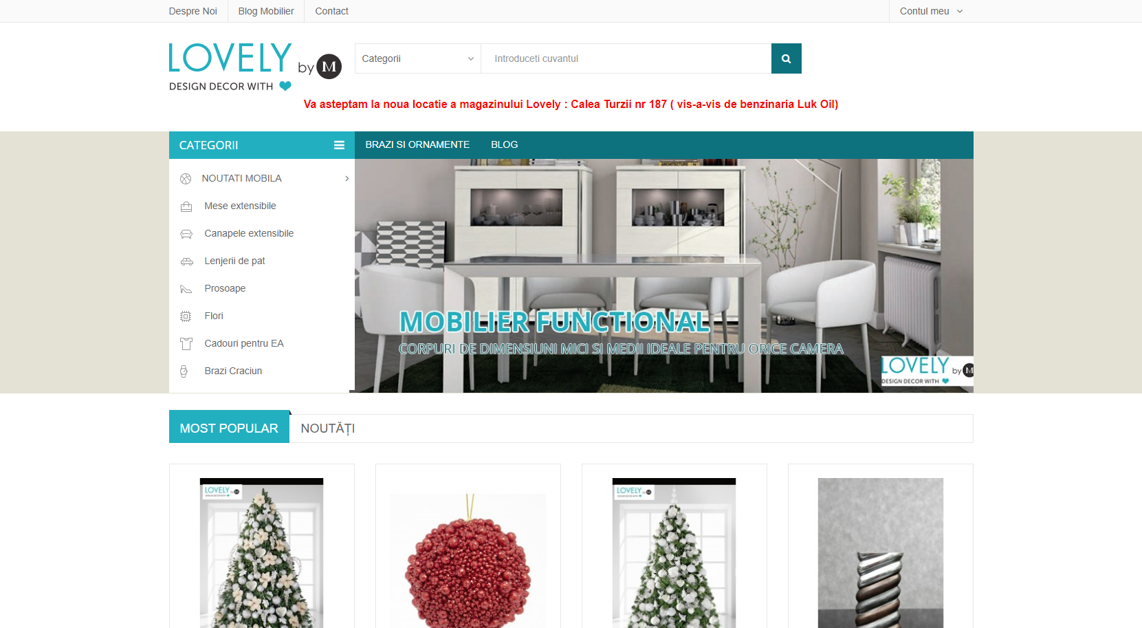 Optimizare site magazin online decoratiuni
